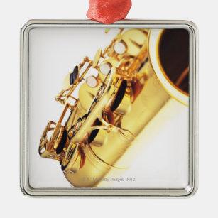 Saxophone 2 christmas ornament