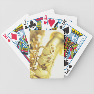 Saxophone 3 bicycle playing cards