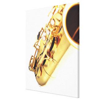 Saxophone 3 canvas print