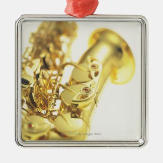 Saxophone 3 christmas ornament