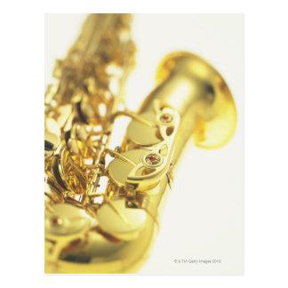 Saxophone 3 postcard