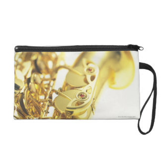 Saxophone 3 wristlet clutch