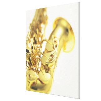 Saxophone 4 canvas print