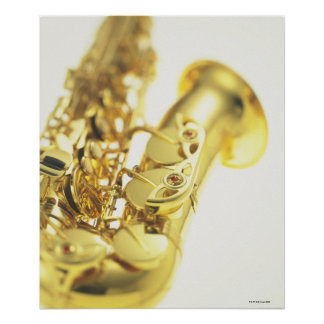 Saxophone 4 poster