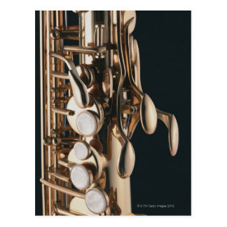 Saxophone 5 post card