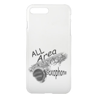 """SAXOPHONE ALL AREA"" Phone Covers IN ANY COLOR"