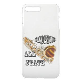 """SAXOPHONE ALL STATE"" Iphone, IN ANY COLOR iPhone 7 Plus Case"
