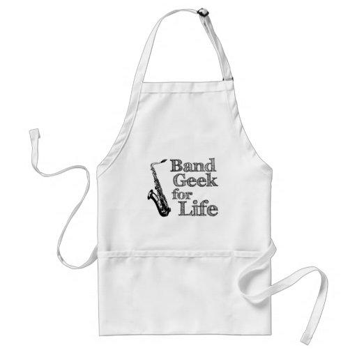 Saxophone Band Geek Standard Apron