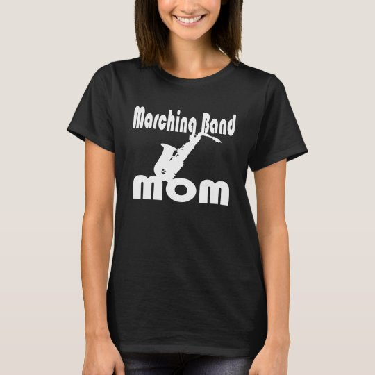 Saxophone Band Mum T-Shirt