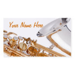 Saxophone Budiness Card Business Card Templates