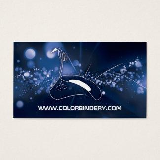 Saxophone Burst Business Card