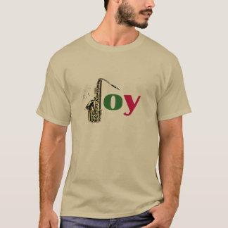 Saxophone Christmas Joy T-Shirt