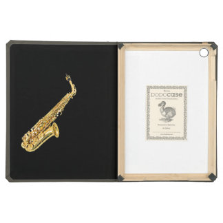"""Saxophone"" design Apple product cases iPad Air Covers"