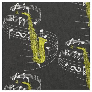 Saxophone Fabric- Dark Fabric