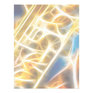 Saxophone Fractal 21.5 Cm X 28 Cm Flyer