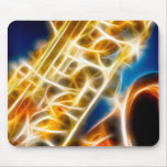 Saxophone - Fractal Mousepads