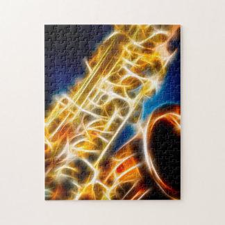 Saxophone Fractal Puzzle