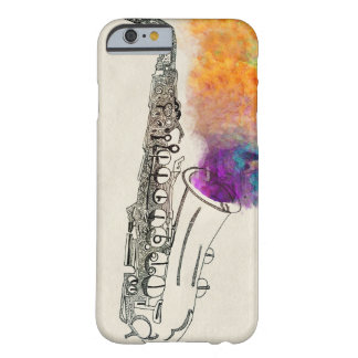 Saxophone Healing Barely There iPhone 6 Case