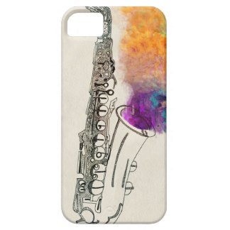 Saxophone Healing iPhone 5 Cover
