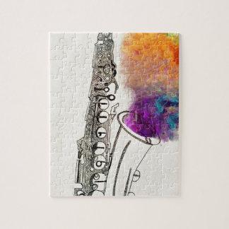 Saxophone Healing Jigsaw Puzzle