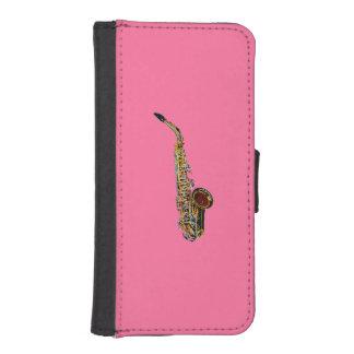 Saxophone iPhone SE/5/5s Wallet Case