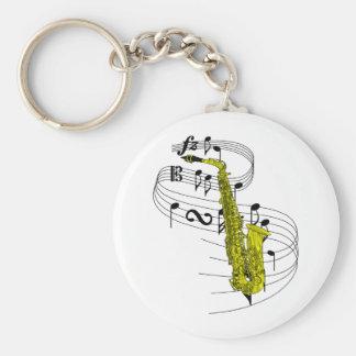 Saxophone Key Ring