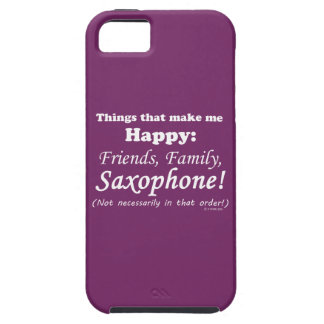 Saxophone Makes Me Happy iPhone 5 Cover