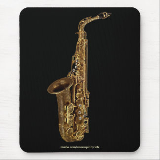 SAXOPHONE MUSIC LOVER Mousepad