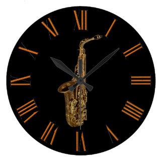 Saxophone Music-lover s Wall Clock