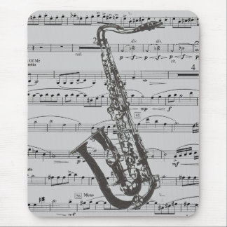 Saxophone Music Mouse Mat