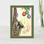 Saxophone New Orleans Jazz Christmas