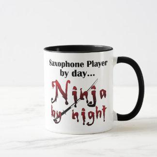 Saxophone Ninja Mug