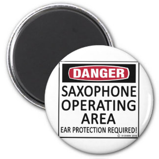 Saxophone Operating Area 6 Cm Round Magnet