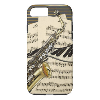Saxophone & Piano Music iPhone 8/7 Case