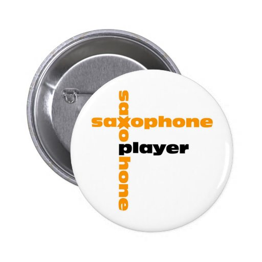 Saxophone Player Pins