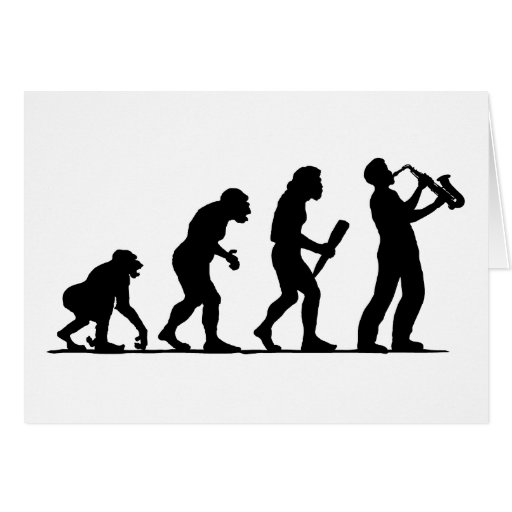 Saxophone Player Cards