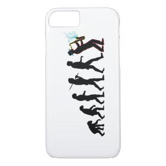 Saxophone Player Evolution iPhone 7 Case