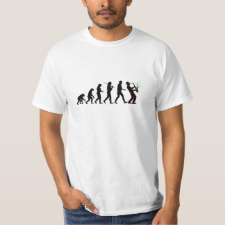 Saxophone Player Evolution T Shirt