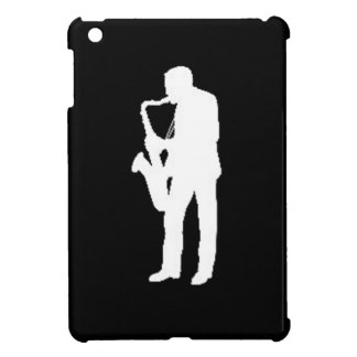 """Saxophone Player"" gifts and products Cover For The iPad Mini"