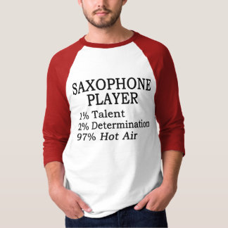 Saxophone Player Hot Air Tshirt