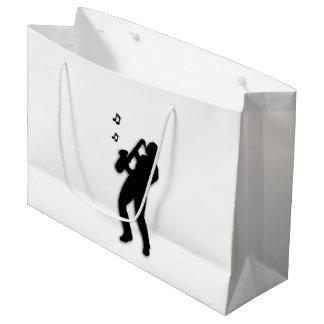 Saxophone Player Large Gift Bag