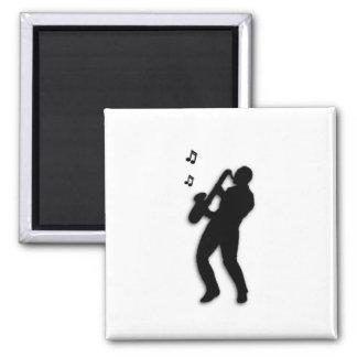 Saxophone Player Magnet