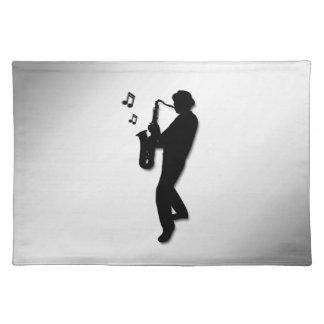 Saxophone Player Placemat