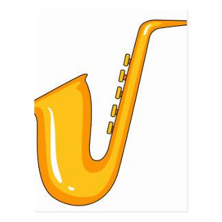 Saxophone Postcard