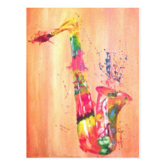 Saxophone Products Postcard
