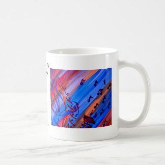 """Saxophone"" Ribbon Series  CricketDiane Design Basic White Mug"