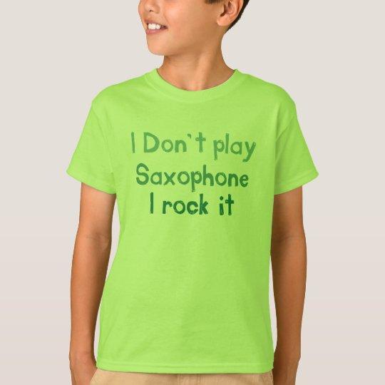 Saxophone Rock It - Kids n Babies T-Shirt