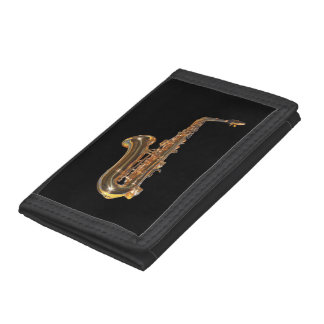 Saxophone Trifold Wallet