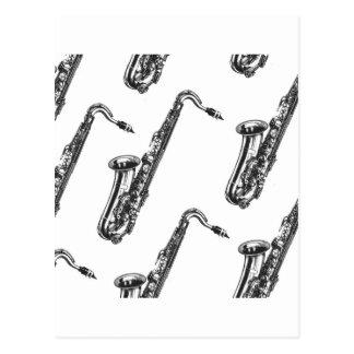 Saxophones Post Cards