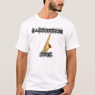 Saxophones Rock T-Shirt